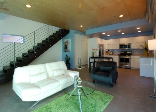 small lot subdivision modern interior architecture