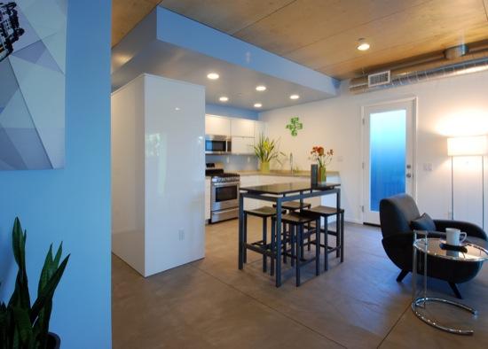 small lot subdivision modern interiors