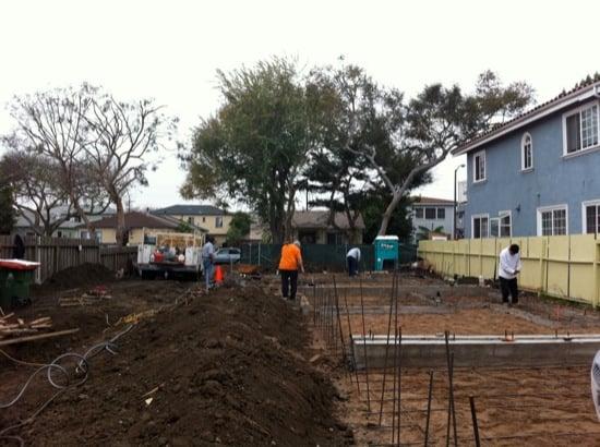 small lot subdivision slab rebar 01