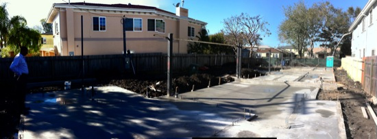 small lot subdivision slabs