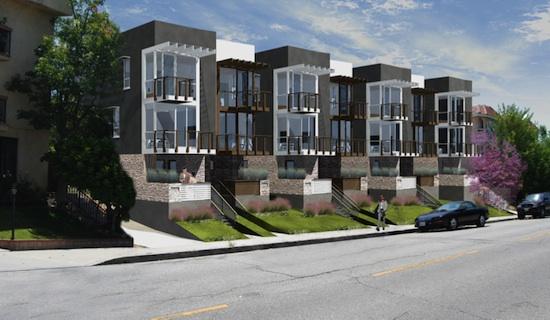 Tujunga small lot subdivision small modern homes