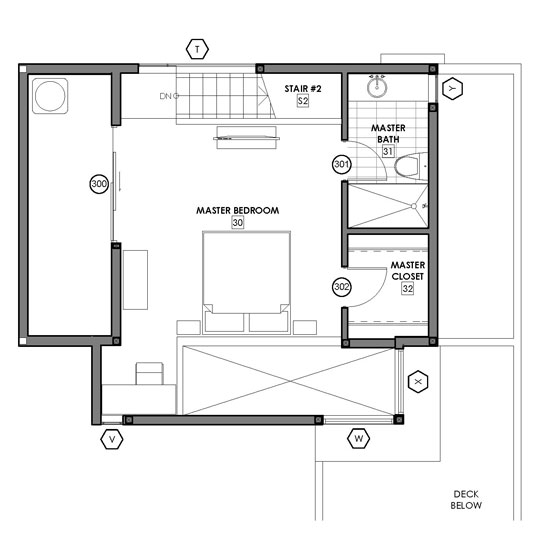 Excellent Small House Plan With Open Floor Plan 21210Dr 2Nd Floor Master Largest Home Design Picture Inspirations Pitcheantrous