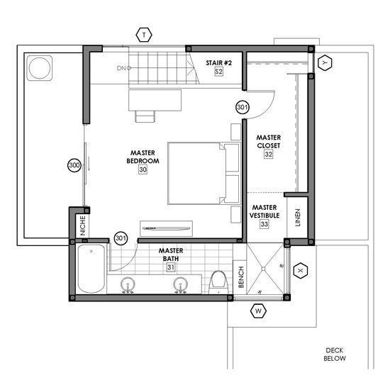 Groovy Small House Plan With Open Floor Plan 21210Dr 2Nd Floor Master Largest Home Design Picture Inspirations Pitcheantrous