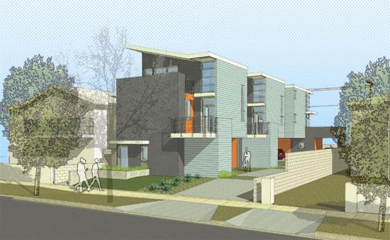small lot subdivision homes