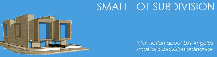 los angeles small lot