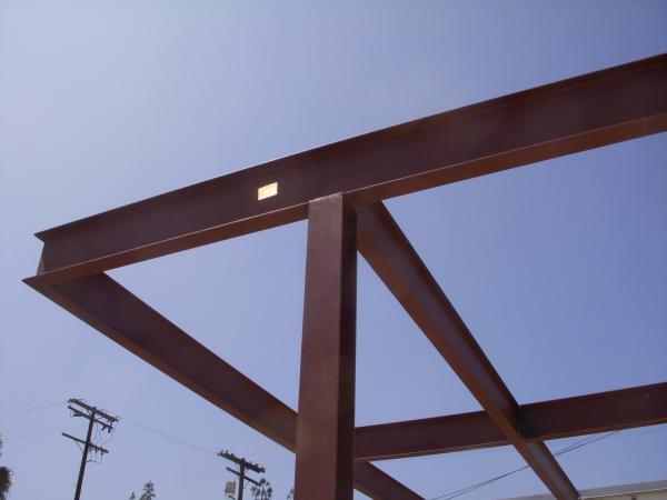 modern steel architecture