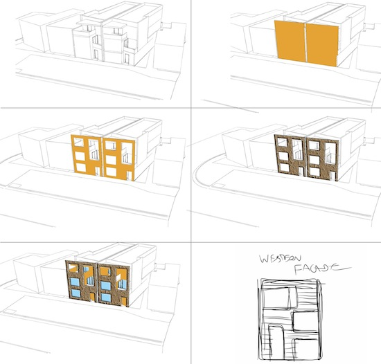 Venice Live Work Architectual Concept Diagrams