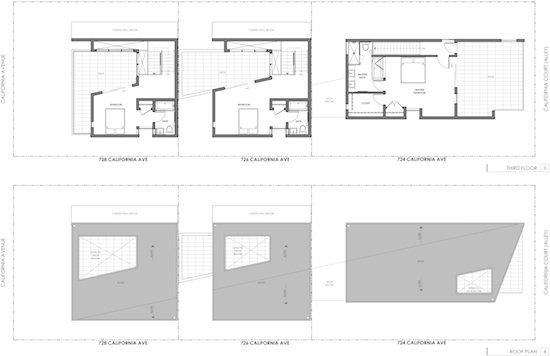 Venice Small Lot Modern Home Plans 3 R
