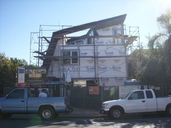 Venice Small Lot Subdivision Moden Homes Construction December 2012