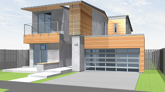 Single Family Modern Architecture
