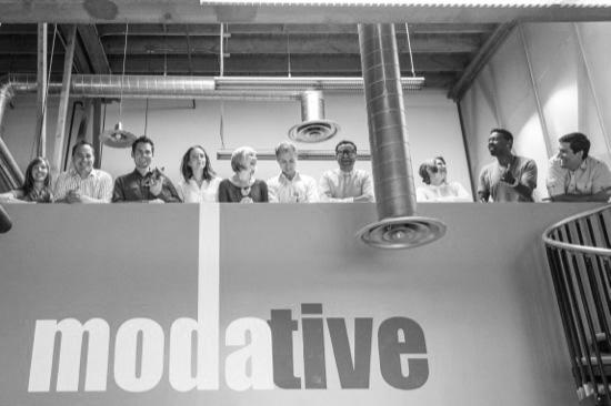 modative architect firm staff designers office bw
