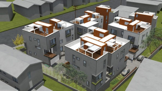 modative architect firm modern home subdivision griffith park 03