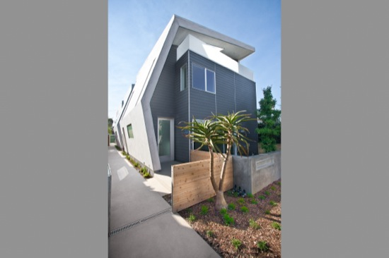 venice small lot subdivision architect modative california