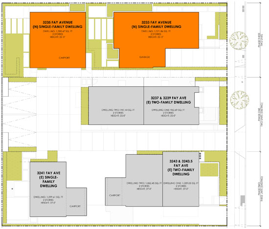 Fay-2X3-Modern-Homes-Site-Plan-Los-Angeles-Small-Lot-Subdivision