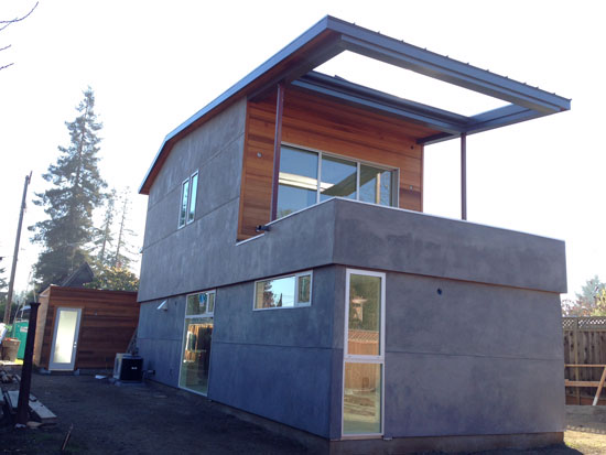 mountain view modern home modative