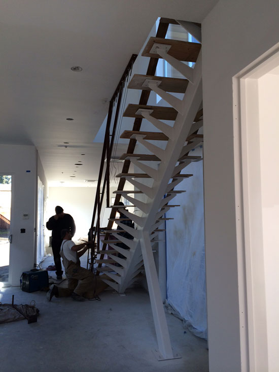 modern stair architecture firm mountain view ca