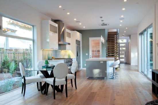 modern homes materials