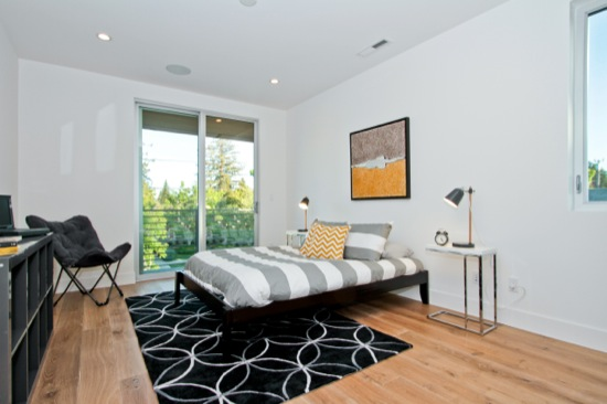 modern  homes master suite