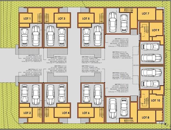 Formosa Fusion Small Lot Subdivision Site Plan