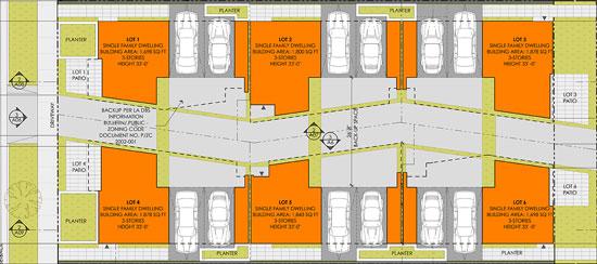 carmen pivot small lot subdivision site plan 01