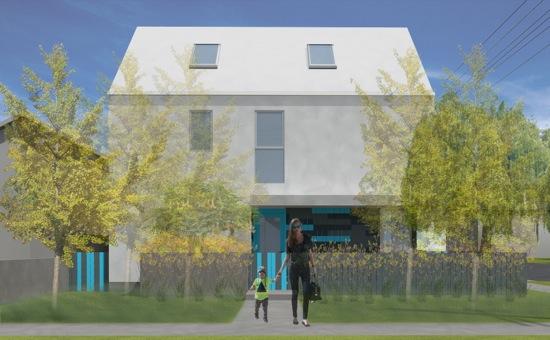 Highland Park Small Lot Subdivision Homes