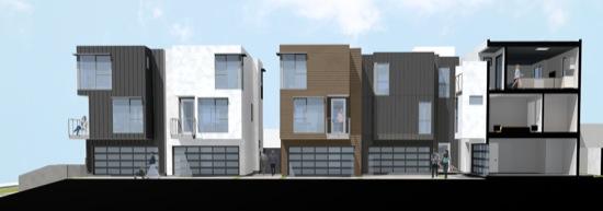 Formosa and Waring Small Lot Subdivision Homes