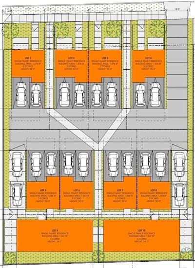 Strata Homes Small Lot Subdivision Site Plan