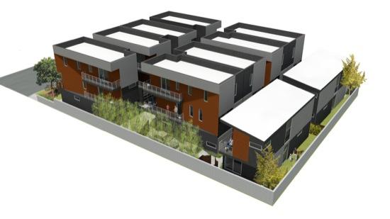 Eagle Rock Small Lot Subdivision Modern Architecture