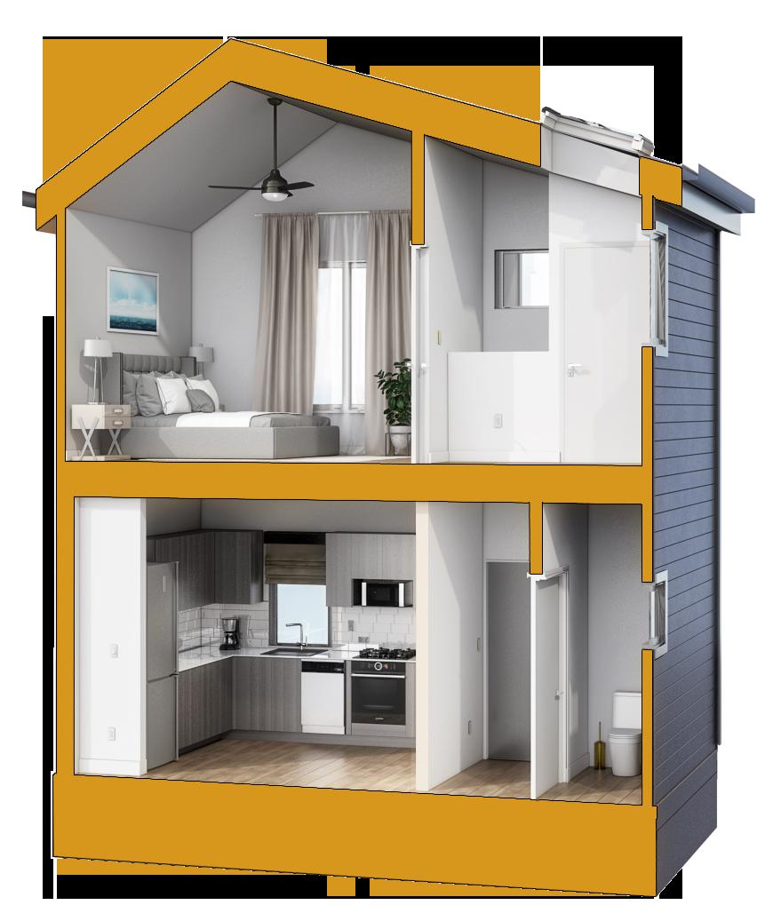 Los Angeles Accessory Dwelling Unit Alpha Model Adu