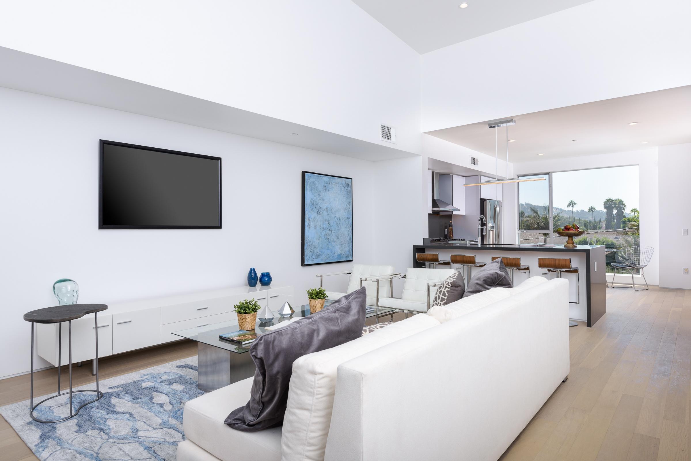 Modern Interieur Living : Urban dwellings modern los angeles homes